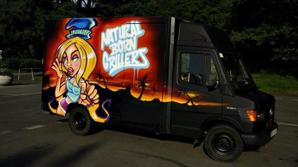 Malowanie food trucków – świetny sposób na reklamę