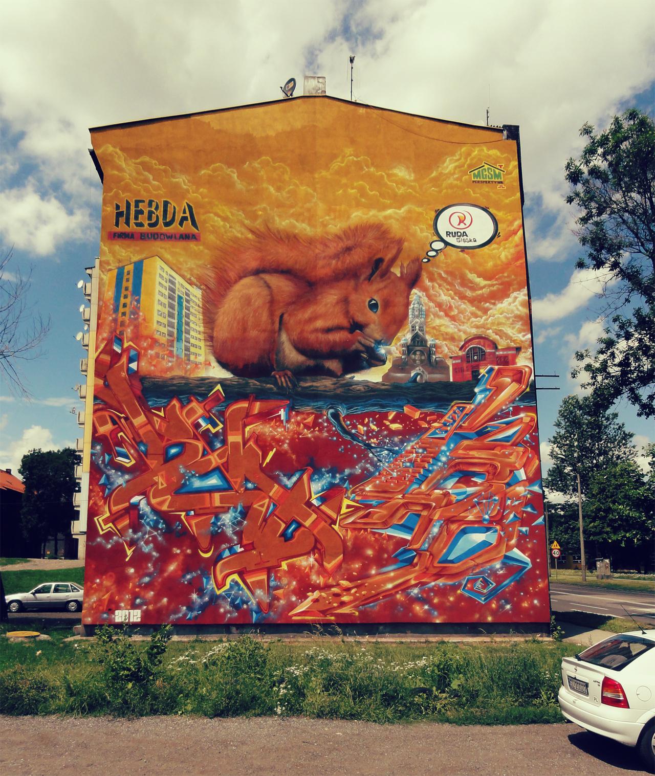 Mural dla miasta Ruda Śląska