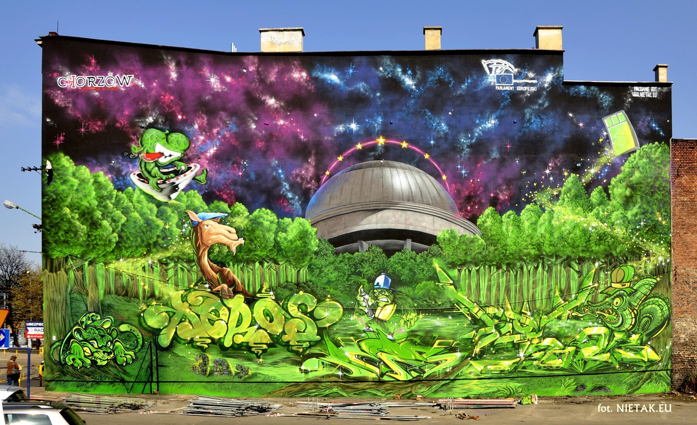 Mural dla Miasta Chorzów
