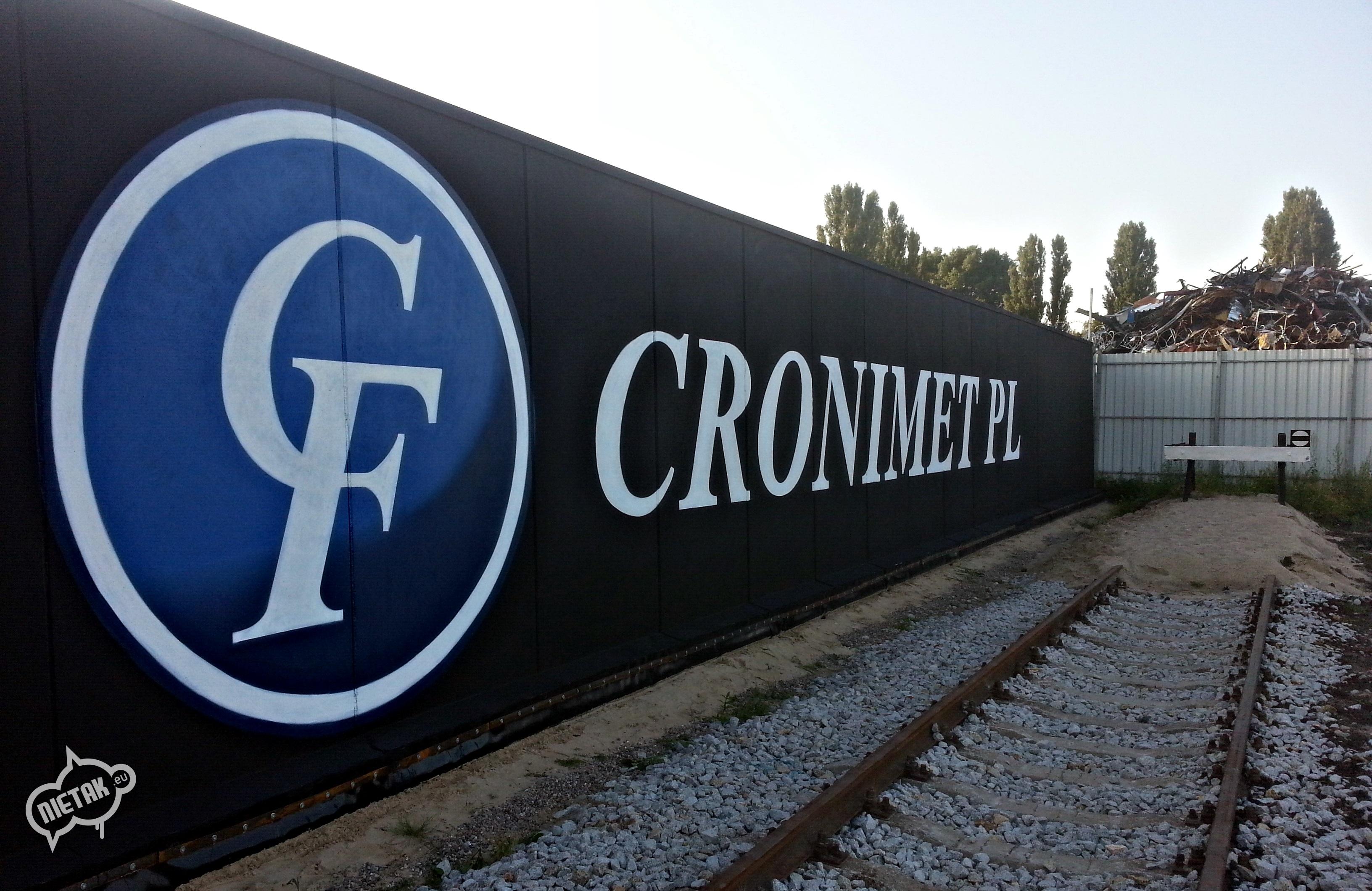 cronimet logo, nietak