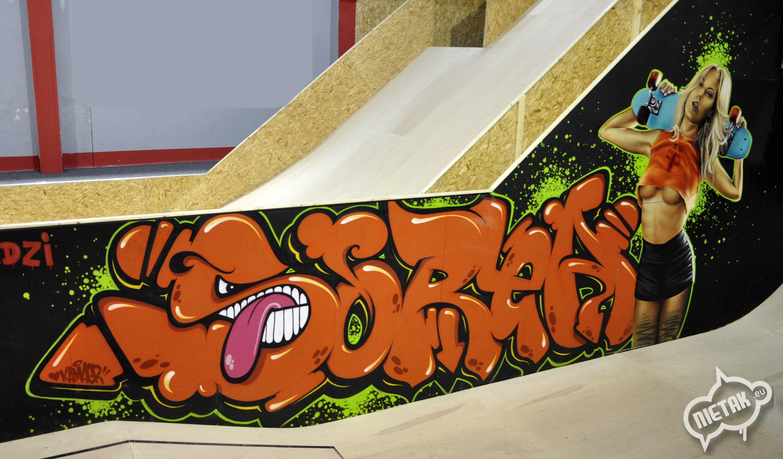FreeStyle Park, Nietak, Malowanie Artystyczne, Graffiti, Chorzów ,  1