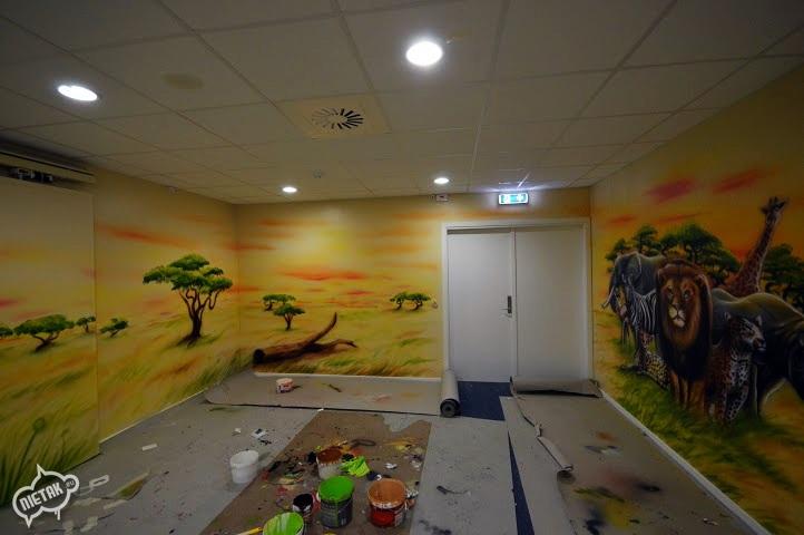 plac zabaw, malowanie dla dzieci,malowanie bawialni,nietak.eu,malowanie artystyczne,aerograf,airbrush,malowanie dżungli,dżungla,malowanie pokoji,graffiti,street-art,bawialnia (17)