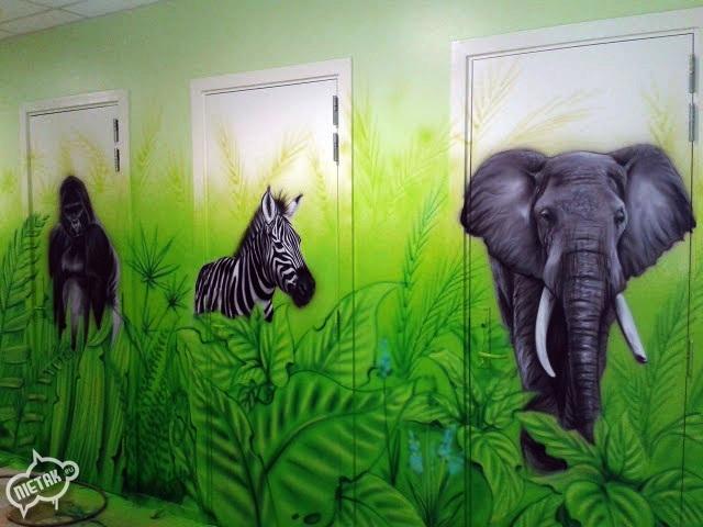 plac zabaw, malowanie dla dzieci,malowanie bawialni,nietak.eu,malowanie artystyczne,aerograf,airbrush,malowanie dżungli,dżungla,malowanie pokoji,graffiti,street-art,bawialnia (27)