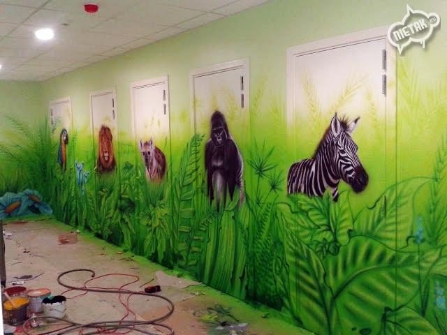 plac zabaw, malowanie dla dzieci,malowanie bawialni,nietak.eu,malowanie artystyczne,aerograf,airbrush,malowanie dżungli,dżungla,malowanie pokoji,graffiti,street-art,bawialnia (28)