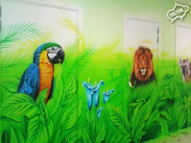 plac zabaw, malowanie dla dzieci,malowanie bawialni,nietak.eu,malowanie artystyczne,aerograf,airbrush,malowanie dżungli,dżungla,malowanie pokoji,graffiti,street-art,bawialnia (29)