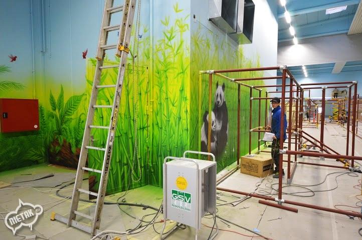 plac zabaw, malowanie dla dzieci,malowanie bawialni,nietak.eu,malowanie artystyczne,aerograf,airbrush,malowanie dżungli,dżungla,malowanie pokoji,graffiti,street-art,bawialnia (31)
