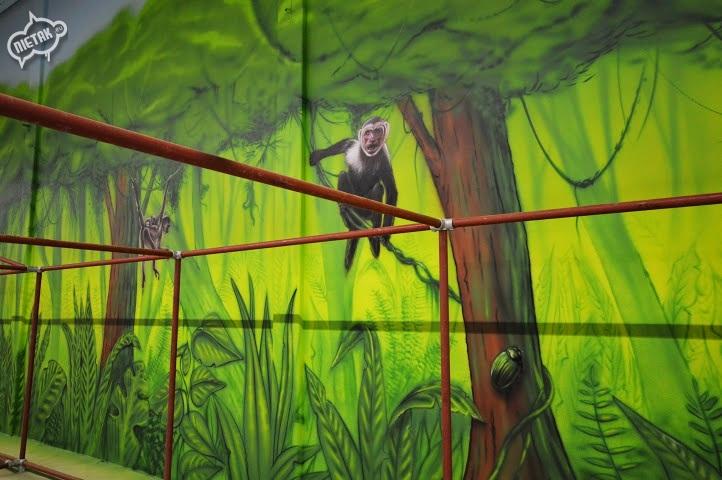 plac zabaw, malowanie dla dzieci,malowanie bawialni,nietak.eu,malowanie artystyczne,aerograf,airbrush,malowanie dżungli,dżungla,malowanie pokoji,graffiti,street-art,bawialnia (32)