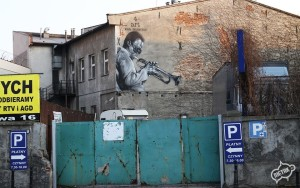 Miles Davis mural, kultura i sztuka Gliwice 4