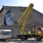 Miles Davis mural, kultura i sztuka Gliwice 3