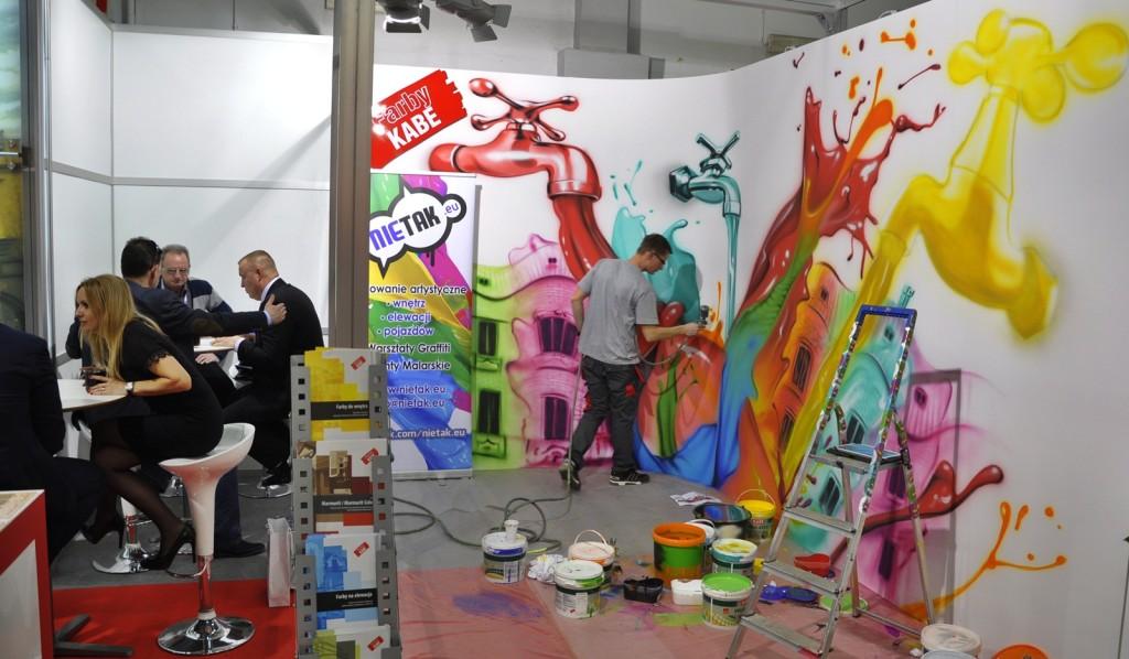nietak, malowanie aertystyczne, farby kabe, targi kielce, targi psb, malowanie wnętrz (1)