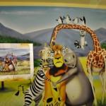 madagaskar graffiti, dekorowanie wnętrz 5