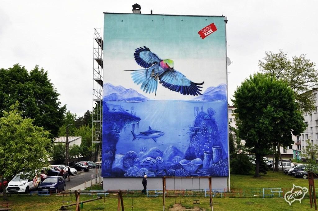 Mural zawadzkie, opole, graffiti, nietak.eu