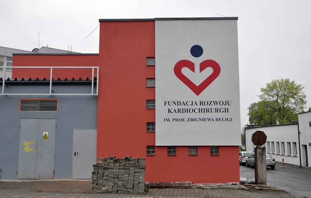fundacja rozwoju kardiochirurgii , nietak , malowanie artystyczne , malowanie logotypu