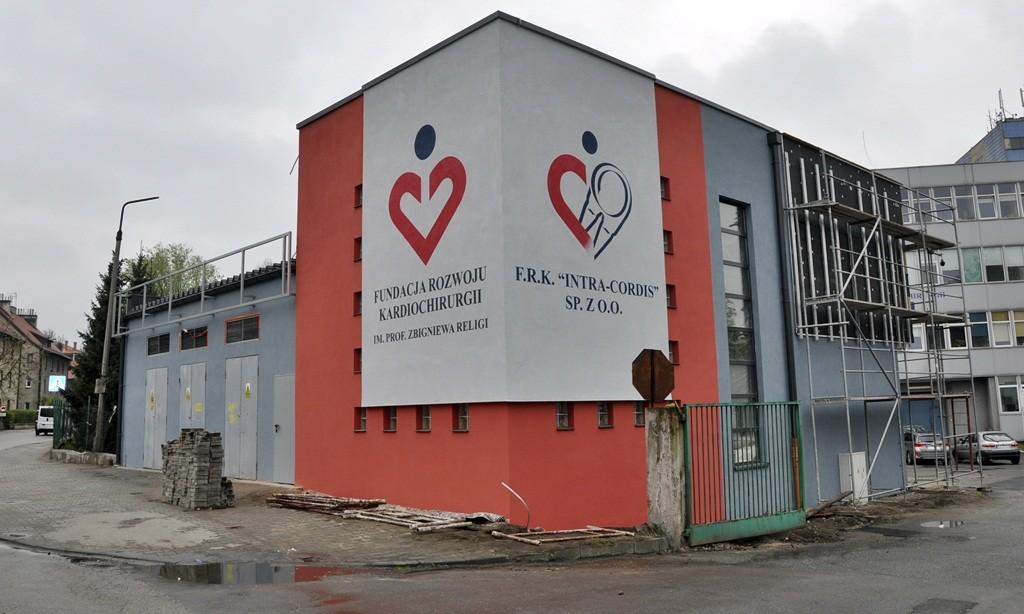 fundacja rozwoju kardiochirurgii , nietak , malowanie artystyczne , malowanie logotypu,inter
