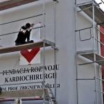 Fundacja rozwoju kardiochirurgi, ścienne malowanie