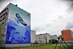 mural graffiti farby kabe opole, kultura i sztuka 3