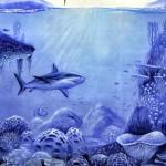 mural rekin graffiti, kultura i sztuka