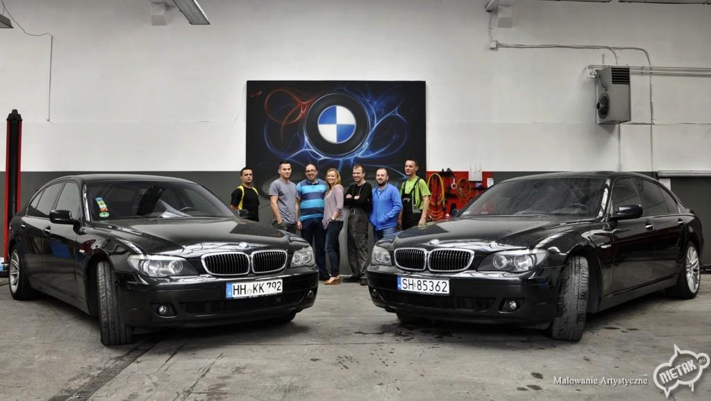 BMW Mauto Katowice, graffiti,nietak.eu