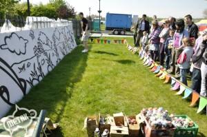 warsztaty graffiti dla dzieci i rodziców