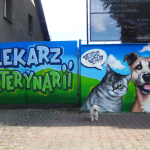 weterynarz, graffiti