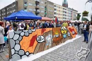 warsztaty graffiti na rynku