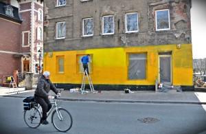 sklep, graffiti 2
