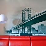 most graffiti, dekorowanie wnętrz