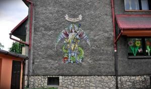 anioł graffiti