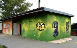 zwierzaki, graffiti