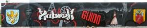 reklama miasta Zabrze, graffiti