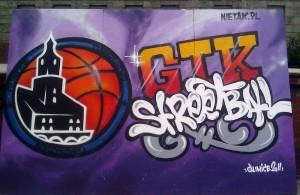 street ball, graffiti