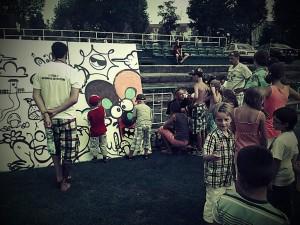 warsztaty graffiti, trzynastolatki