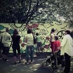 warsztaty graffiti, dziewięciolatki