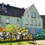 warsztaty graffiti, ośmiolatki