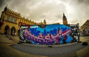 crossfit, graffiti