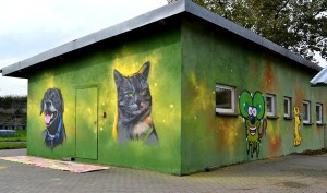 kot graffiti