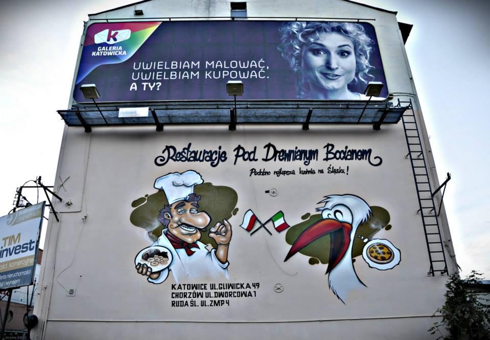 Artystyczne malowanie reklam - Nietak.eu
