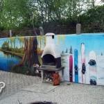 posiadłosć, graffiti
