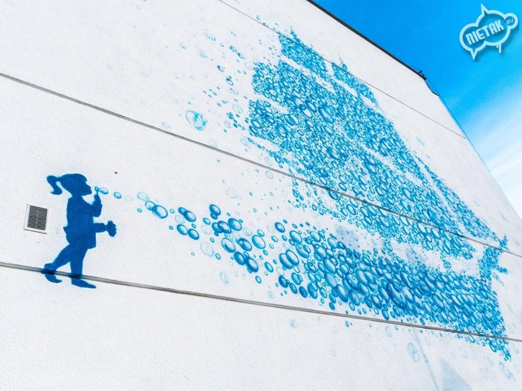 Malowanie murali - Nietak.eu