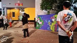 zabawa dla dzieci, graffiti