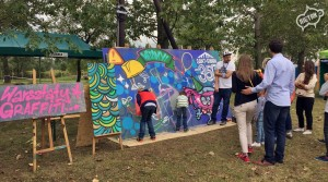 malowanie graffiti, warsztaty