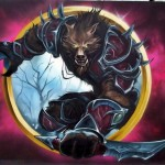 world of warcraft, graffiti,nietak,praga5