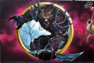 world of warcraft, graffiti,nietak,praga5