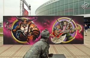nietak,graffiti,praga,malowanie, event graffiti, world of warcraft