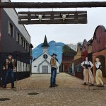 Zewnętrzne malowanie, mural 3d