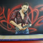 malowanie uv, malowanie kręgielni, graffiti 4