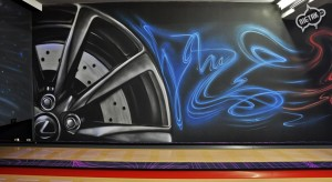malowanie uv, malowanie kręgielni, graffiti 5