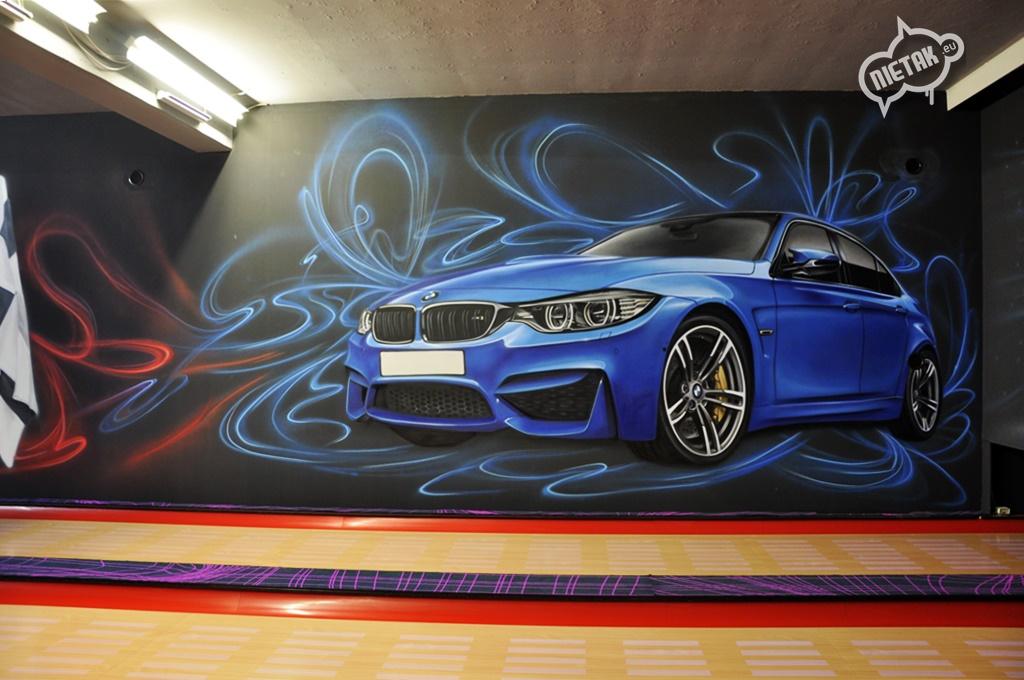 malowanie uv, malowanie kręgielni, graffiti 6