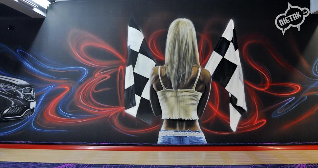 malowanie uv, malowanie kręgielni, graffiti 7
