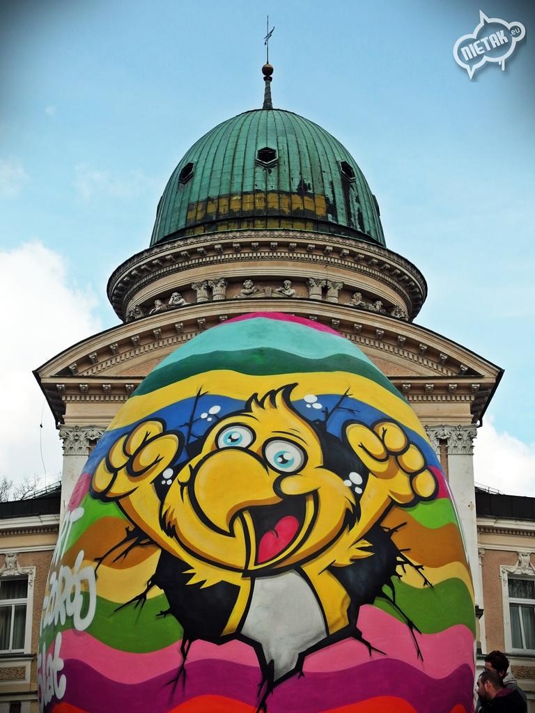 Pisanka kolorowa Graffiti
